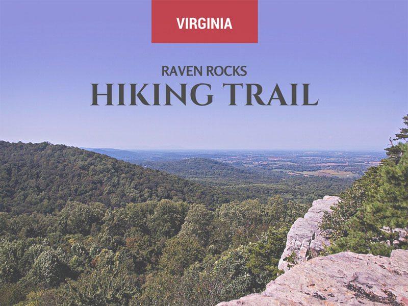 hiking raven rocks