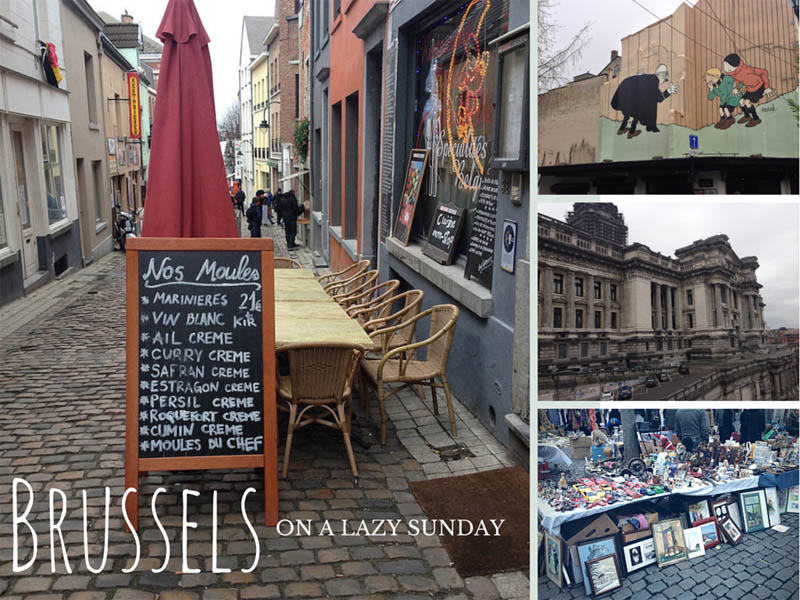 How to spend a lazy Sunday in Brussels