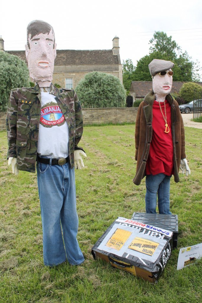 Scarecrow only fools and horses