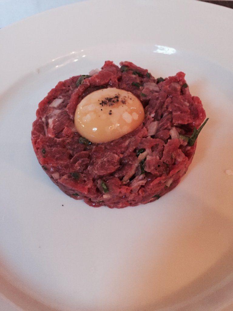steak tartare Bistro du vin birmingham