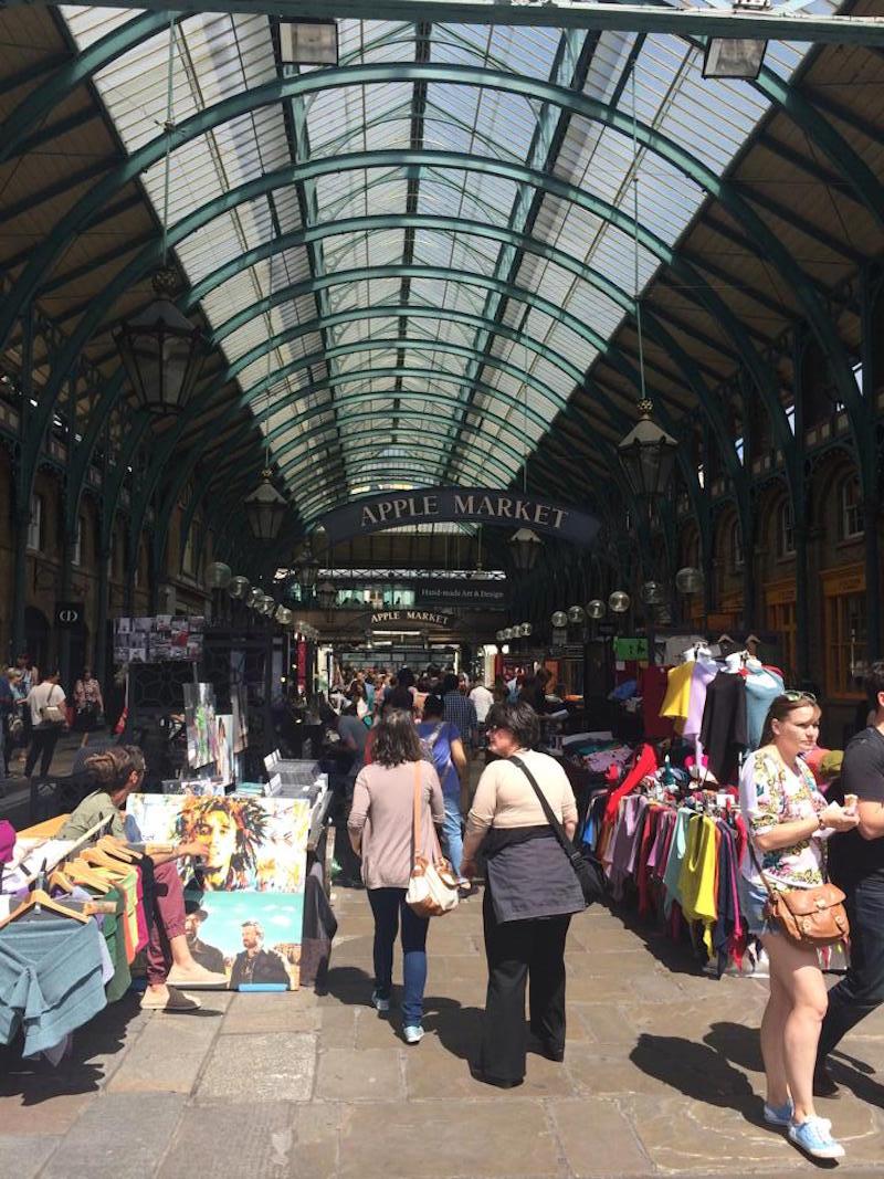 Covent Garden's Apple Market