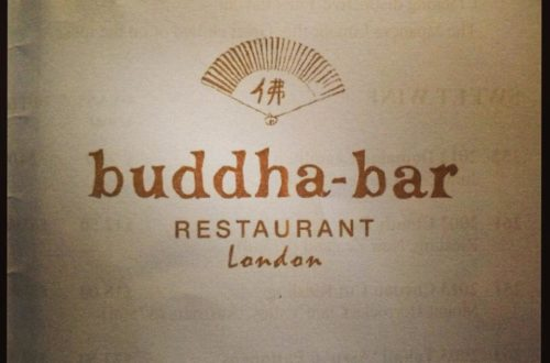Buddha bar afternoon tea