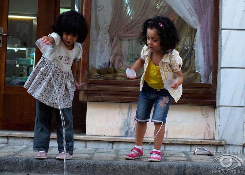 children playing tunisia