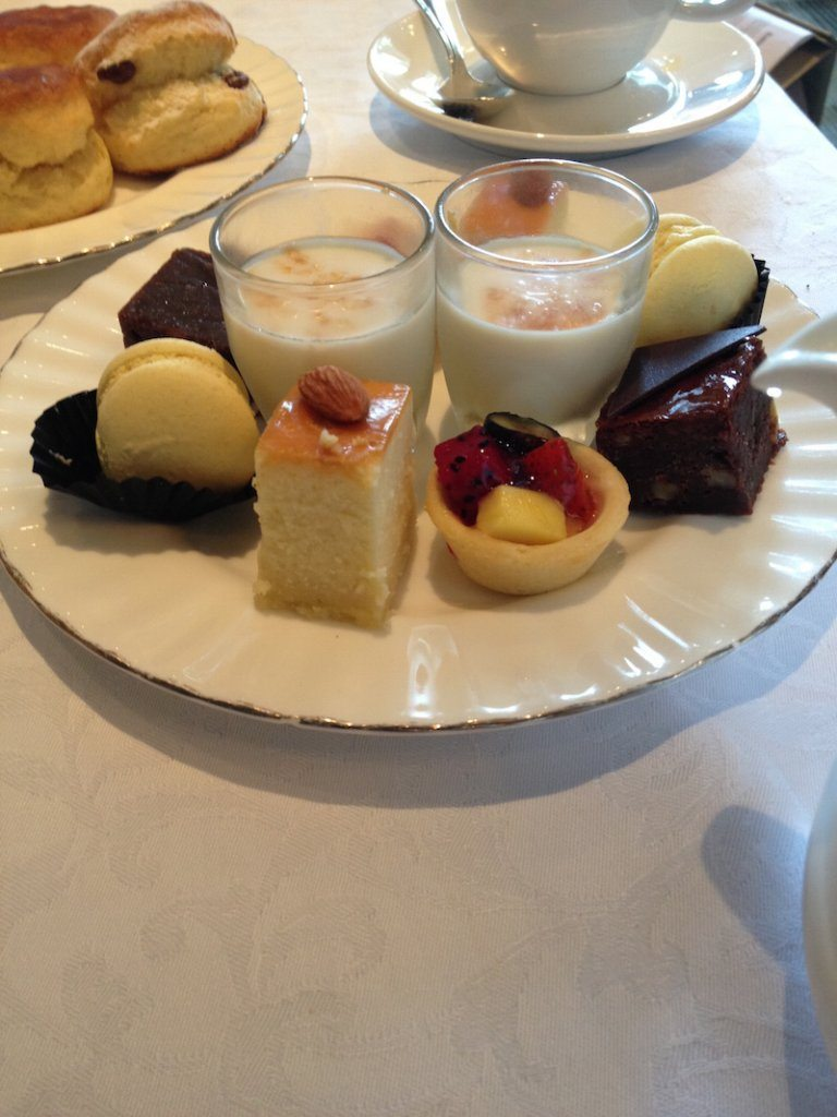 eastern and oriental afternoon tea sweets