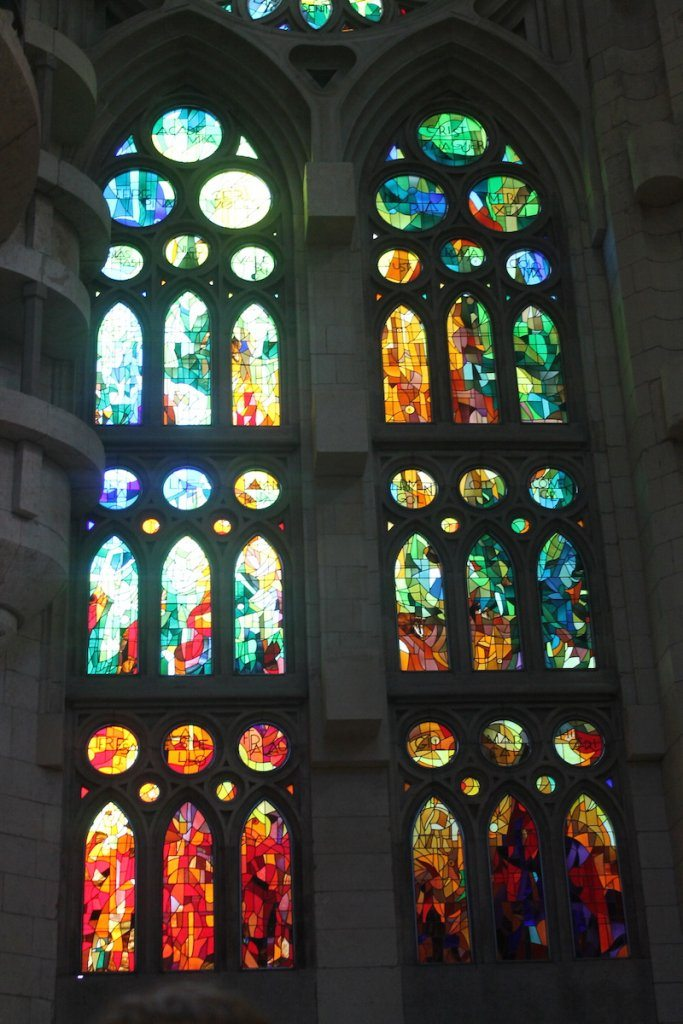 beautiful stained glass.