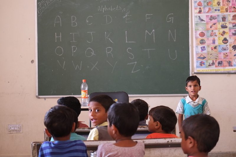 Indian classroom