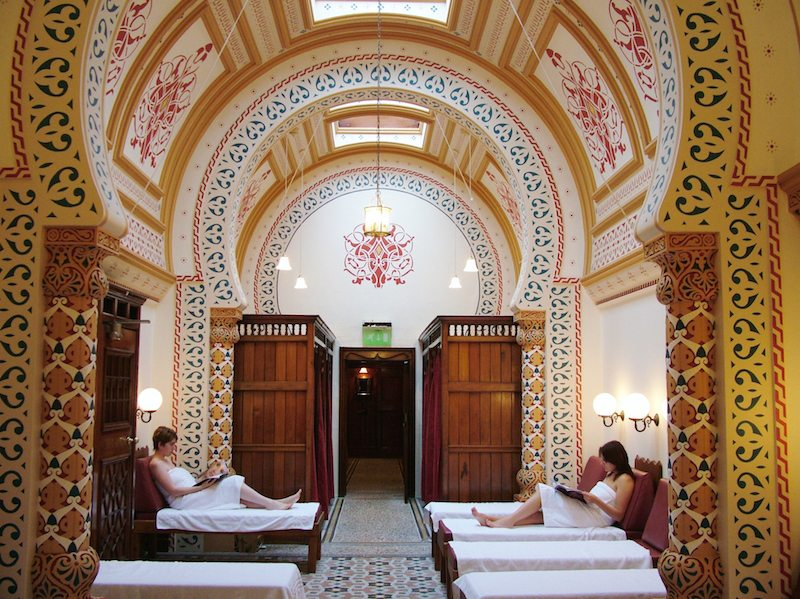 Harrogate Turkish Baths, Credit Visit Harrogate.
