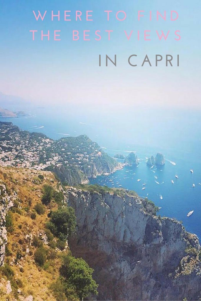 Where to find the best views in Capri