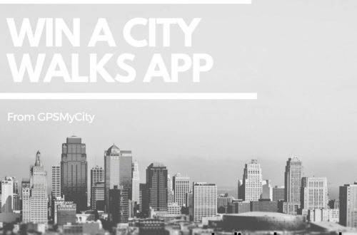 Win a city walks app