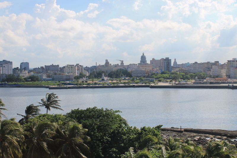 View of Havana from across the bay.