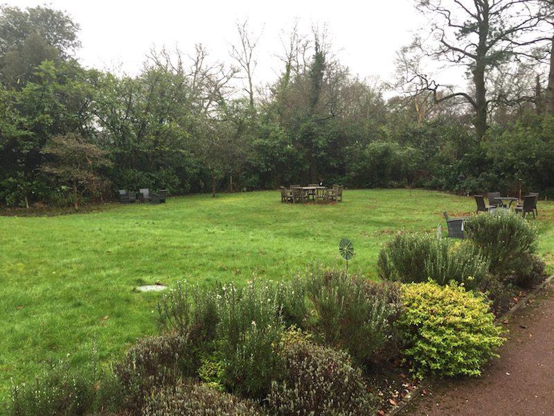A lovely little garden...