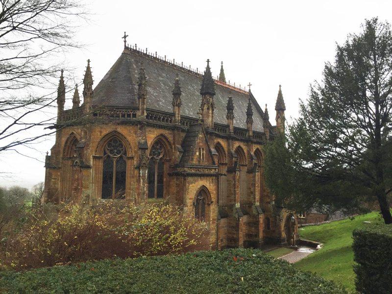 Tyntesfield chapel