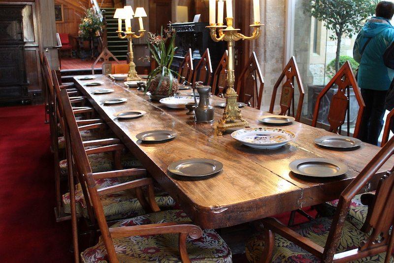 dining table palace house beaulieu