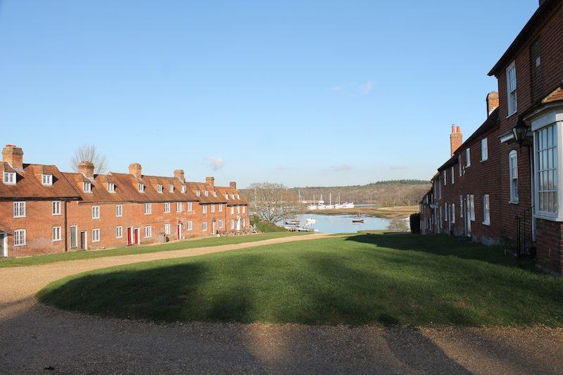 Buckler's Hard maritime village.