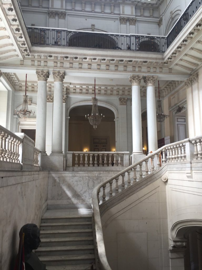 Inside the Revolution Museum.