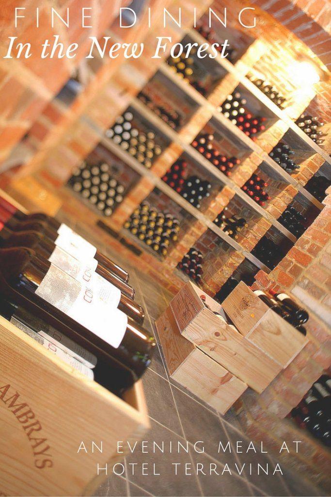 Hotel TerraVina's wine cellar.