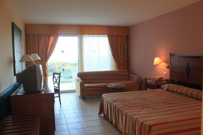 Our room at the Blau Varadero.