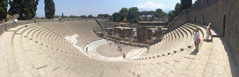 Pompeii Amphitheatre.