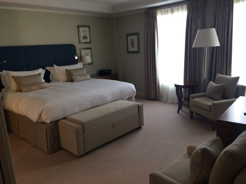 The Stafford London suite bedroom