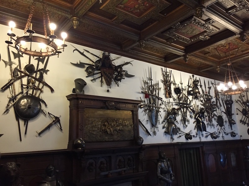 War Room Peles Castle.
