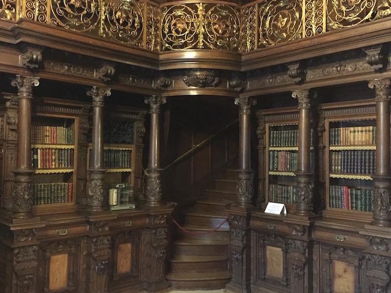 Library, Peles Castle.