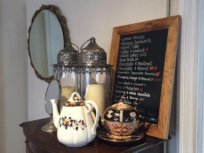 Pettigrews tea rooms, cardiff.