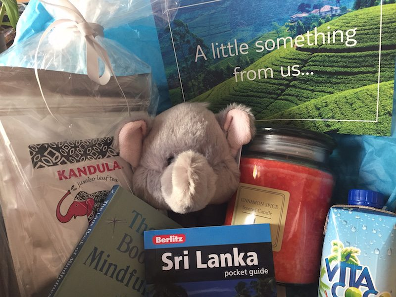 thomson Sri Lanka gift pack.