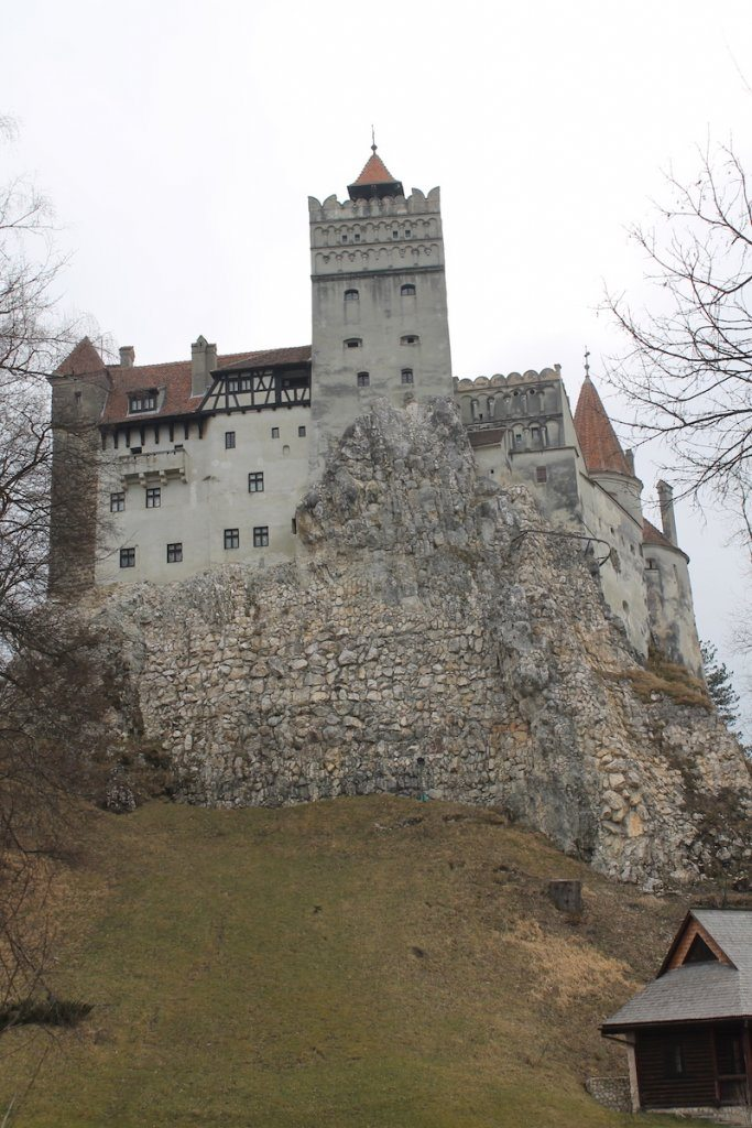 The fortress that is Bran Castle...