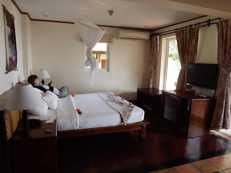 Luxury bungalow in Vietnam.