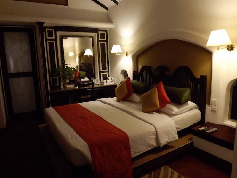 Luxury bungalow in Sri Lanka.