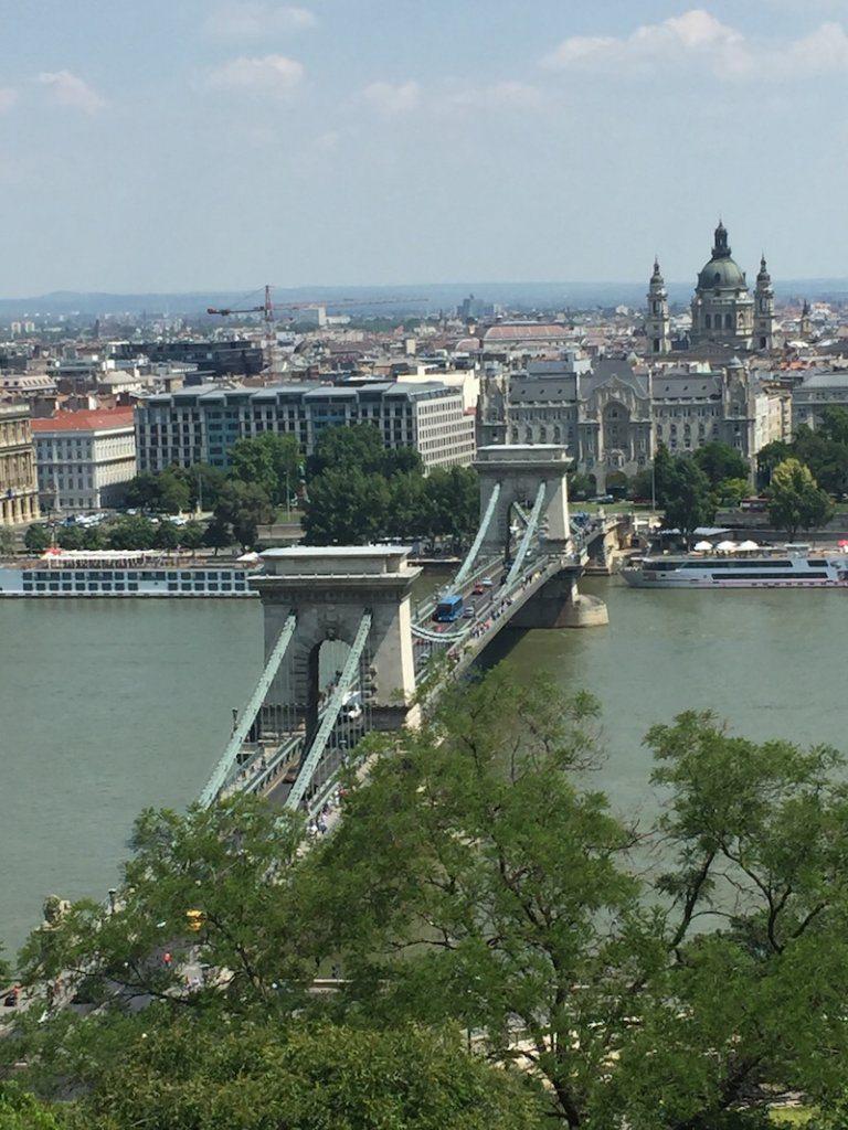 Visit Budapest: Budapest's Iconic Chain Bridge.
