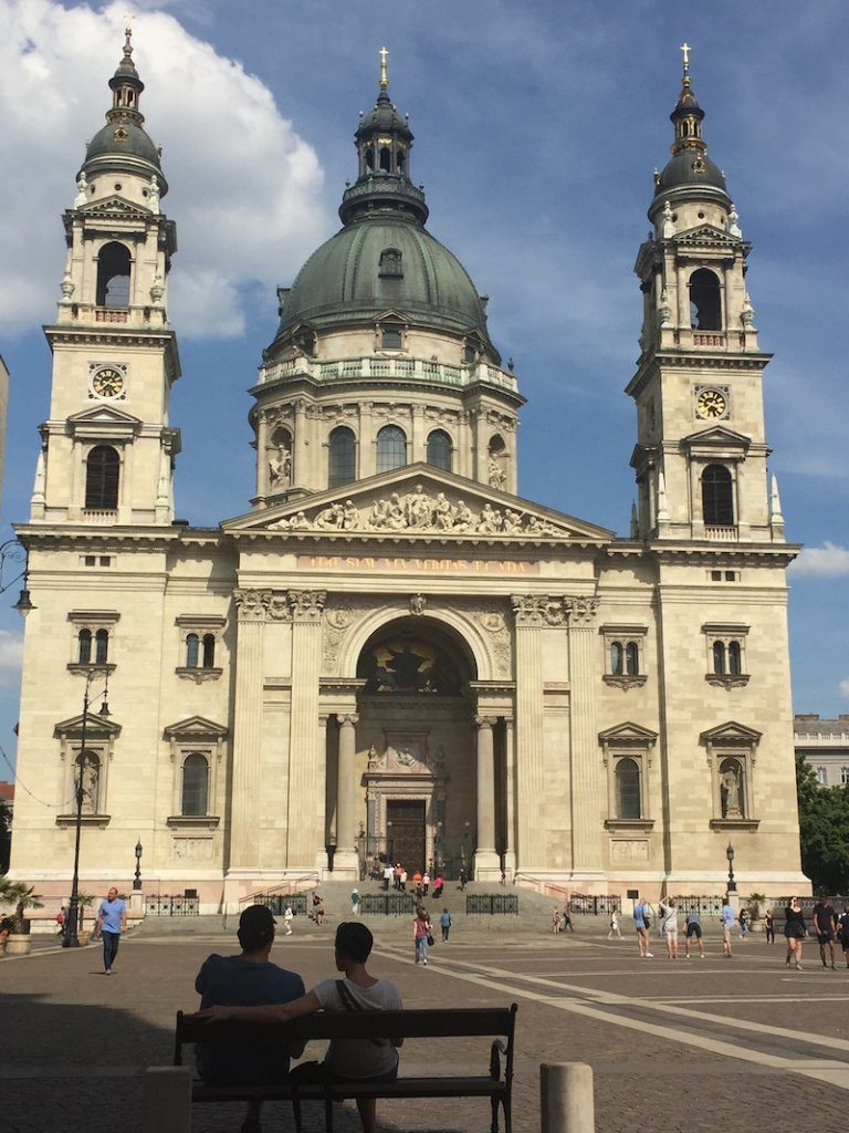 Visit Budapest: The grand St Stephen's Basilica.