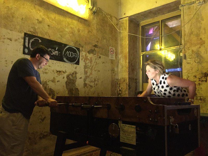 Fogas Haz ruin pub games room 2
