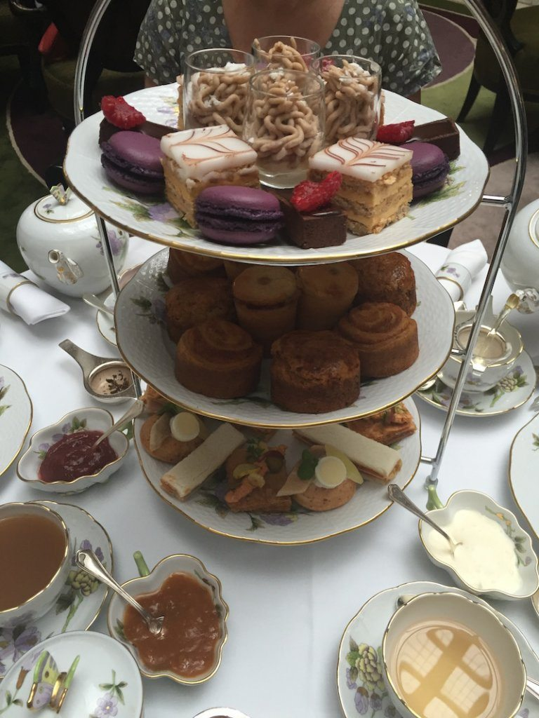 Herend Afternoon Tea at the Four Seasons Gresham Palace.