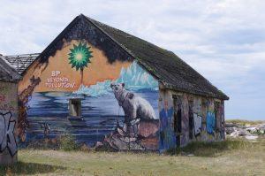 Pirou grafitti town - abandoned towns