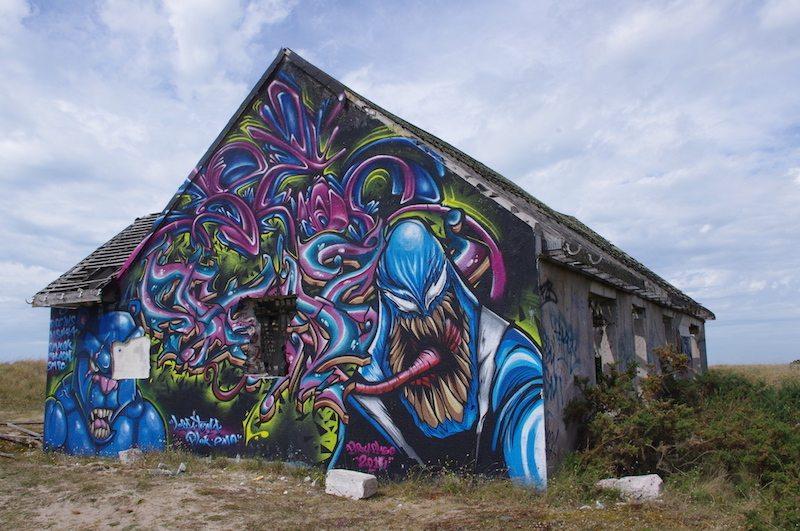 Pirou grafitti town