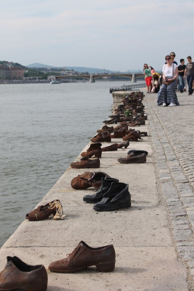 The Shoes on the Danube Bank memorial.
