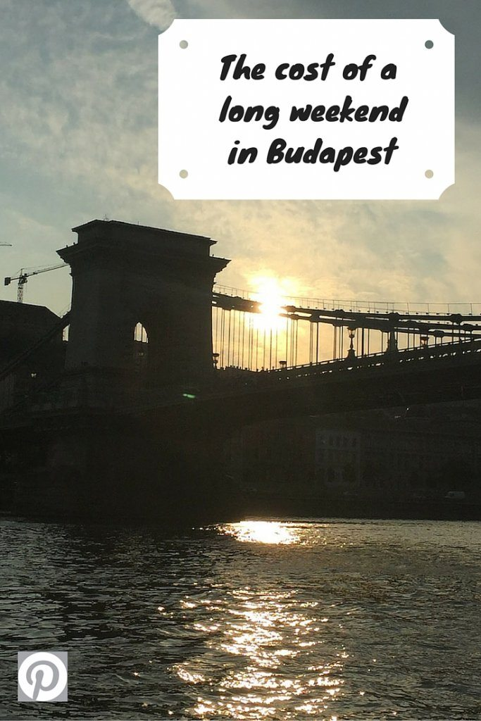 The cost of a long weekend in Budapest