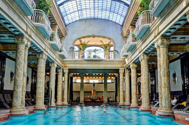 Gellert Baths, credit Hungarian Tourism Ltd.
