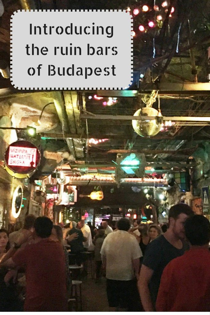 introducing the ruin bars of budapest