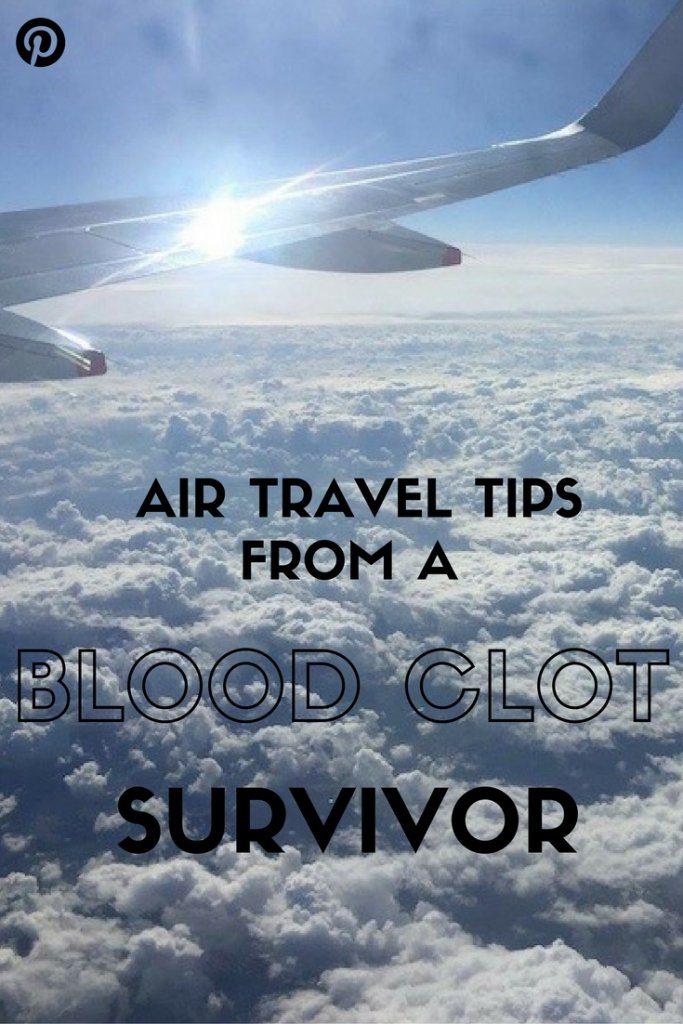 Air travel tips from a blood clot survivor