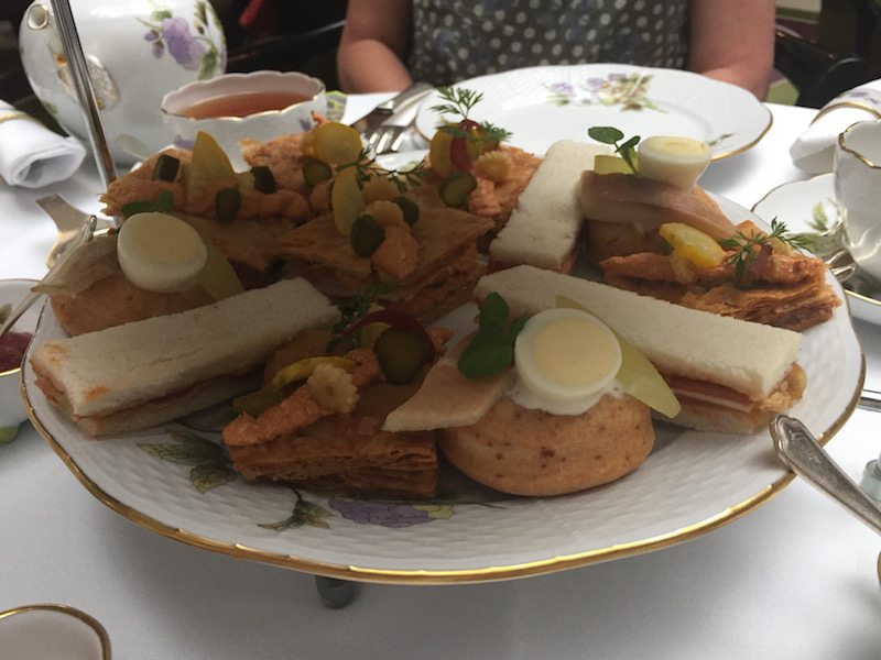 Herend Afternoon tea four seasons gresham palace sandwiches