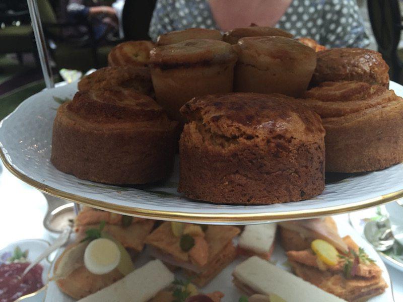 Pumpkin scones Herend Afternoon tea four seasons gresham palace