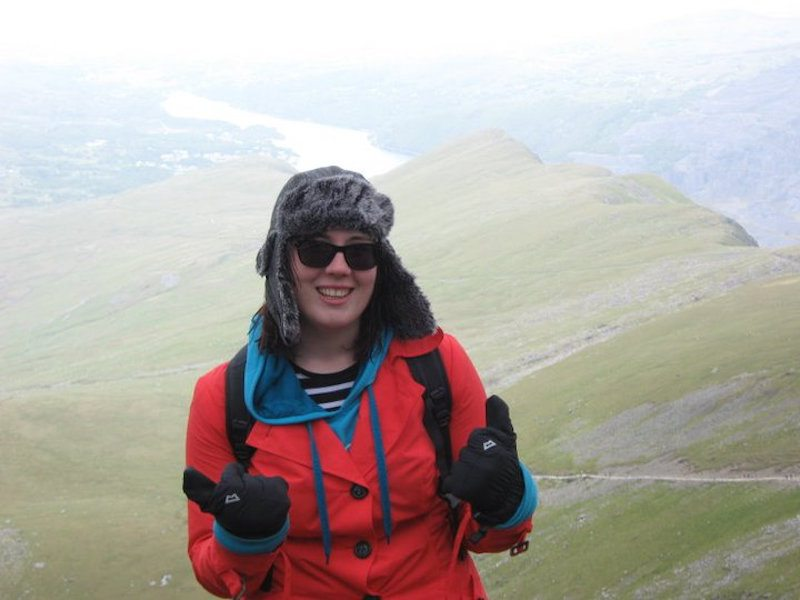 Climbing Mount Snowdon in Wales