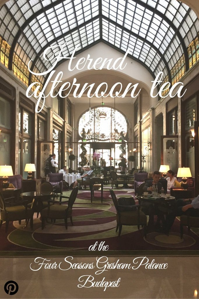 afternoon tea at the four seasons gresham palace