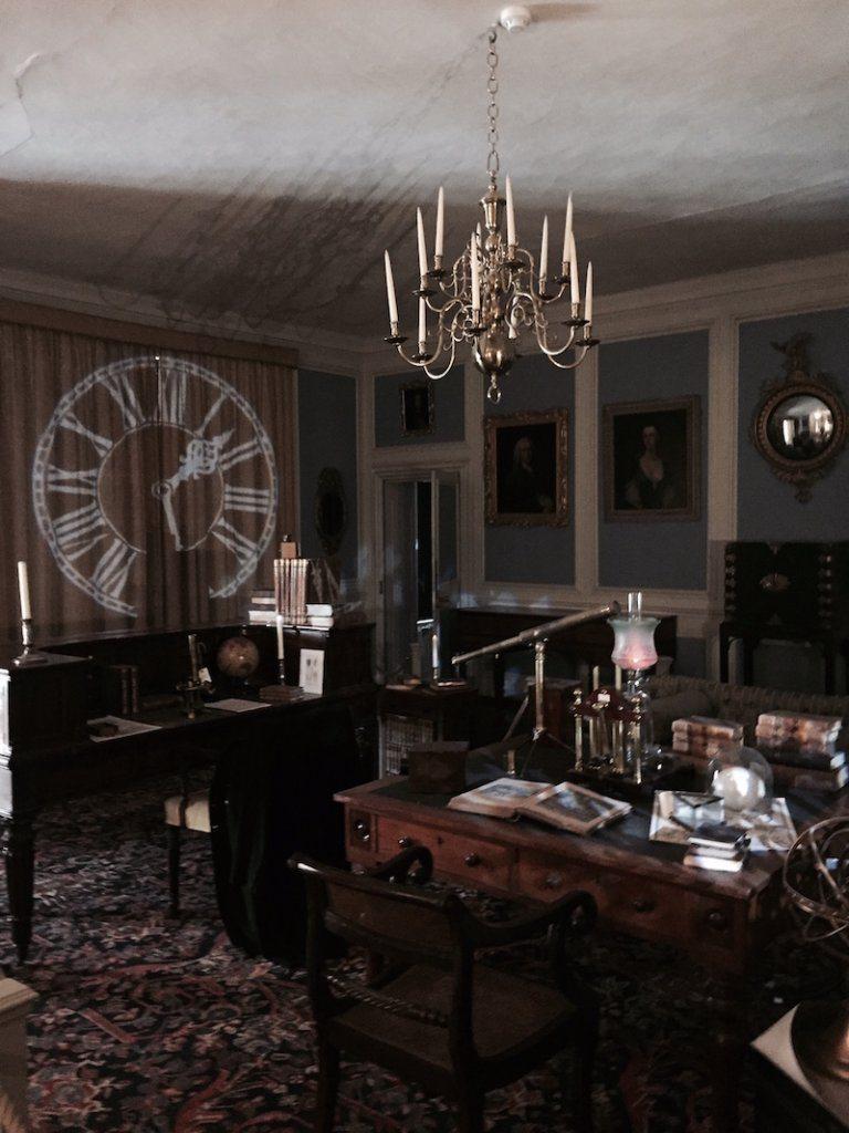Inside Lacock Abbey