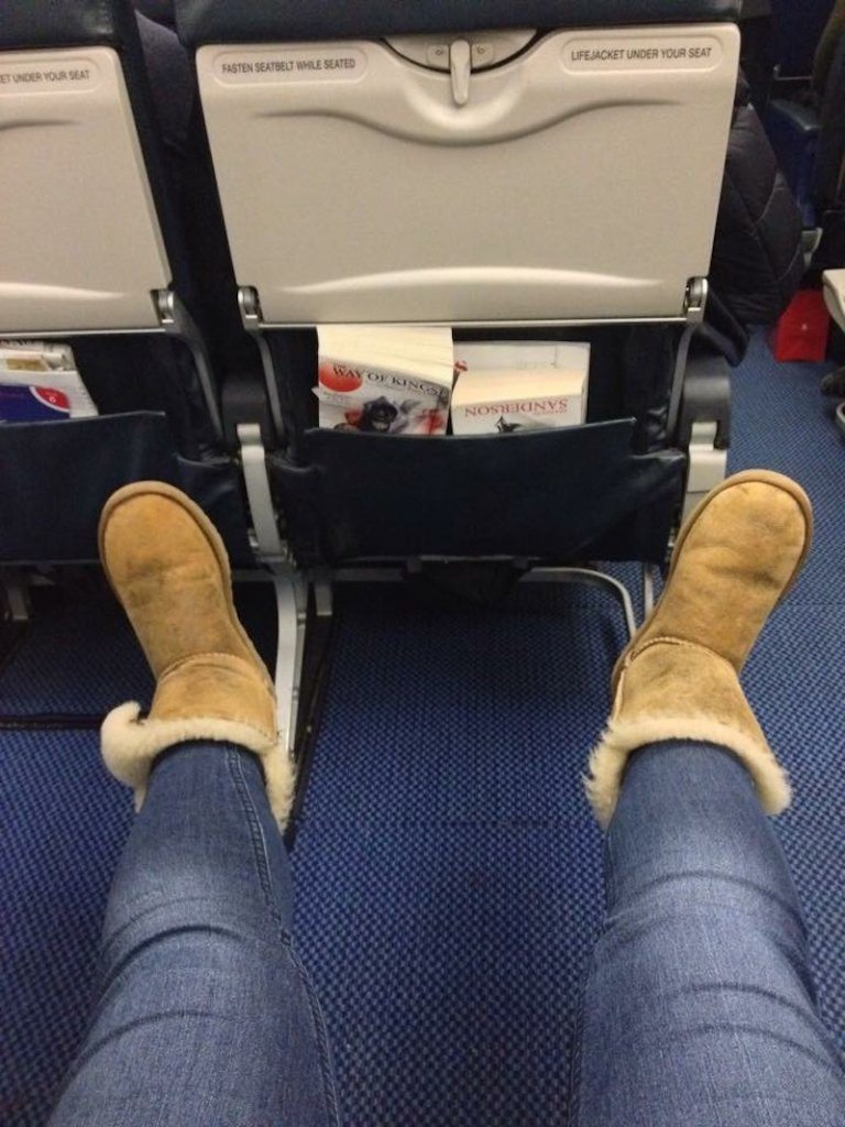 Emergency exit seats are a great option if you have the chance!