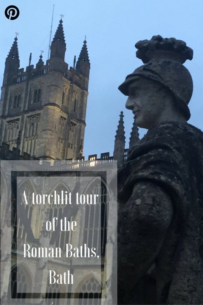 torchlit tour of the roman baths in Bath | Ladies What Travel