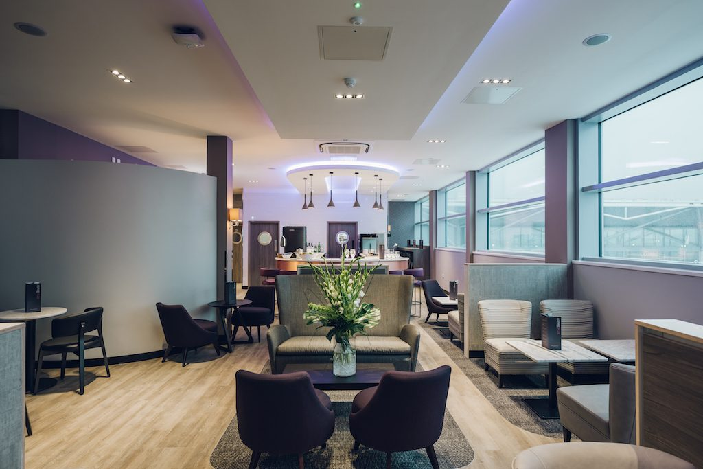 Bristol airport aspire lounge review