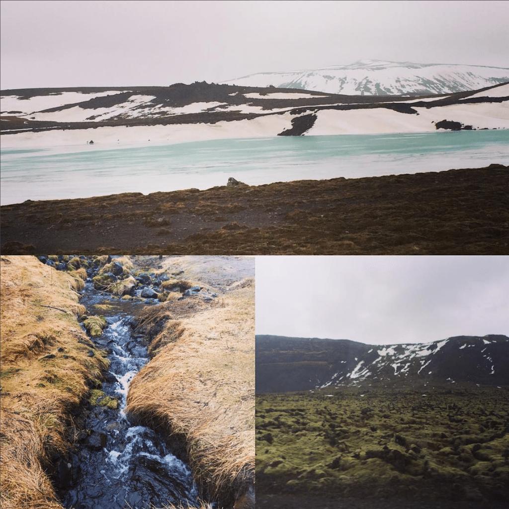 Iceland's varied terrain